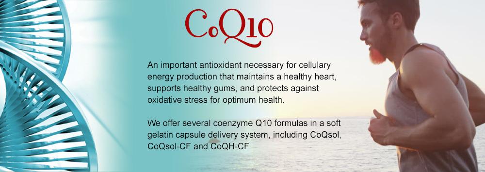 CoQ10 soft gels