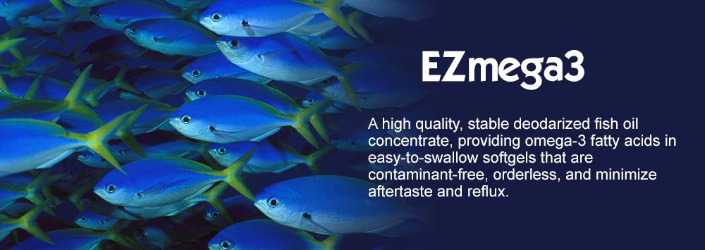 EZmega3 soft gels
